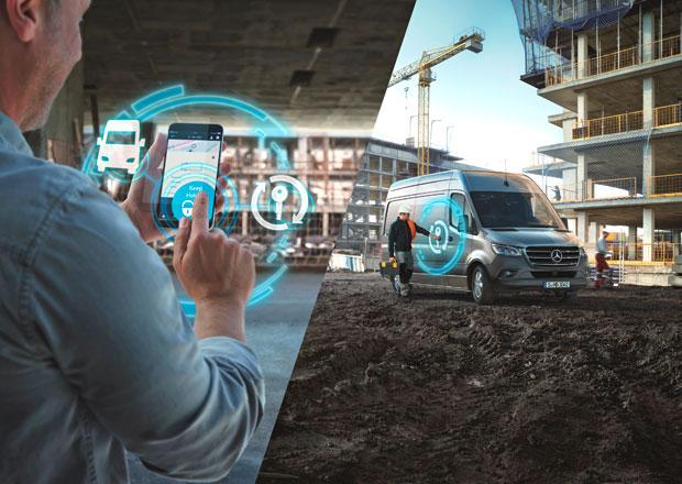 Mercedes PRO uvádí na trh digitální služby pro nový Sprinter
