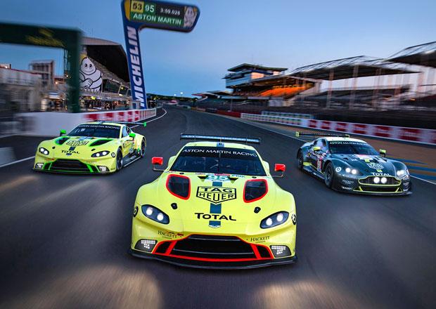 Příprava jezdců Aston Martinu na 24 hodin Le Mans je trochu netradiční