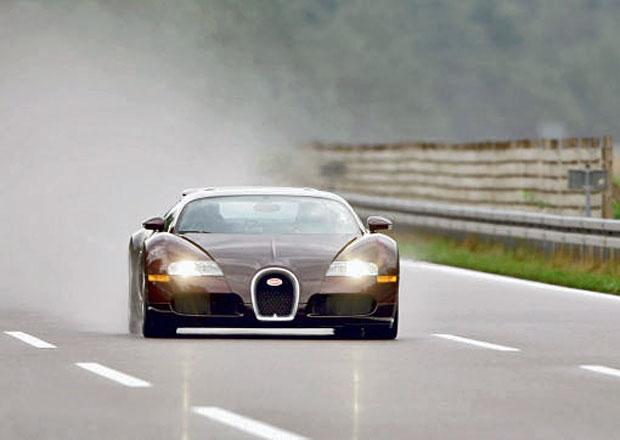 Jaká je havárie v rychlosti 390 km/h? Vypráví legendární testovací jezdec Bugatti