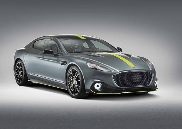 Aston Martin Rapide AMR: Britský elegán se mění v limitku silničního závoďáku