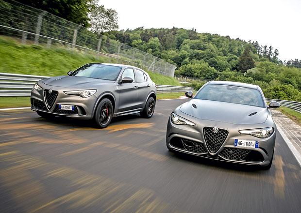 Alfa Romeo Giulia QV a Stelvio QV NRING: Podívejte se, jak jim to sluší na Nürburgringu!
