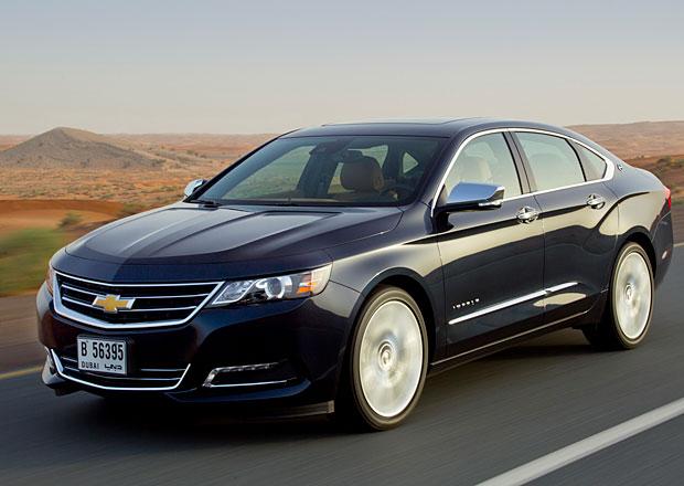 Za volantem Chevroletu Impala. Měl by velký Američan v Evropě šanci?