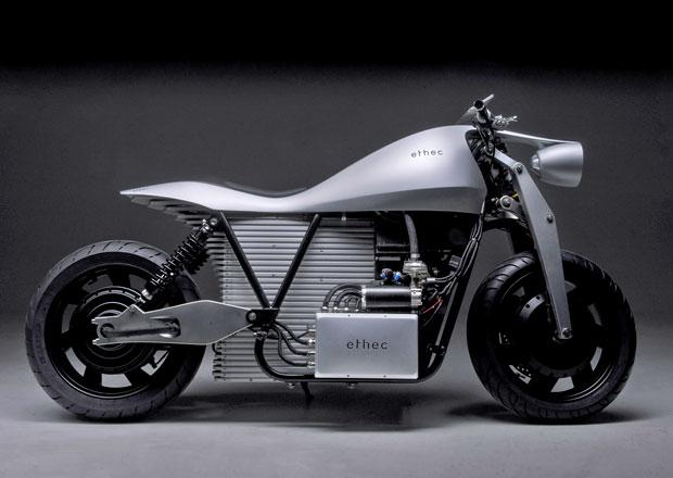 Ethec: Jen další elektrická motorka? Tahle má poháněna obě kola!