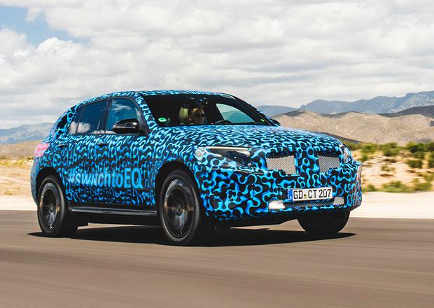 Mercedes-Benz EQC na další várce fotek. Tentokrát testuje ve Španělsku