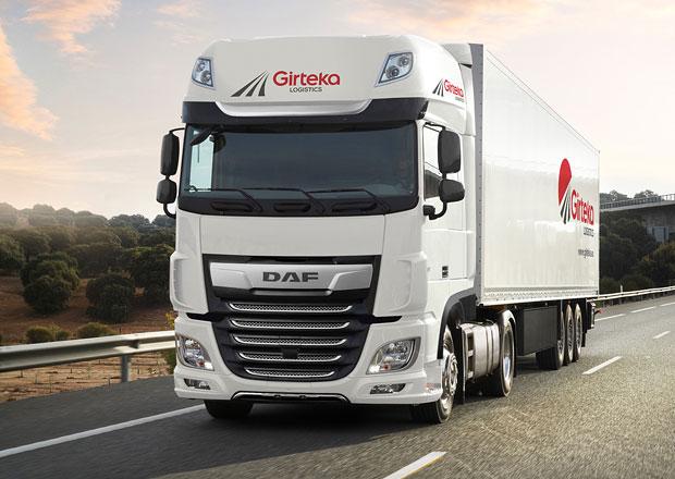 DAF Trucks dodá 500 vozidel XF pro Girteka Logistics