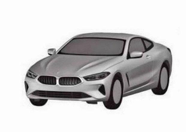 BMW řady 8 Gran Coupé a Cabrio odhalují patentové kresby