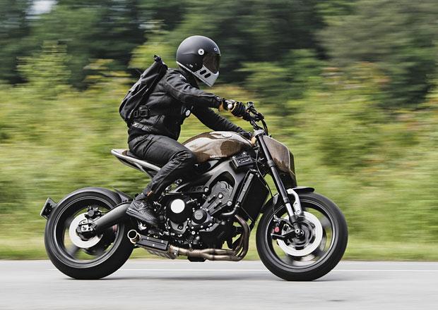 Yamaha XSR900 zahalená v módním lněném vláknu od Dab Motors