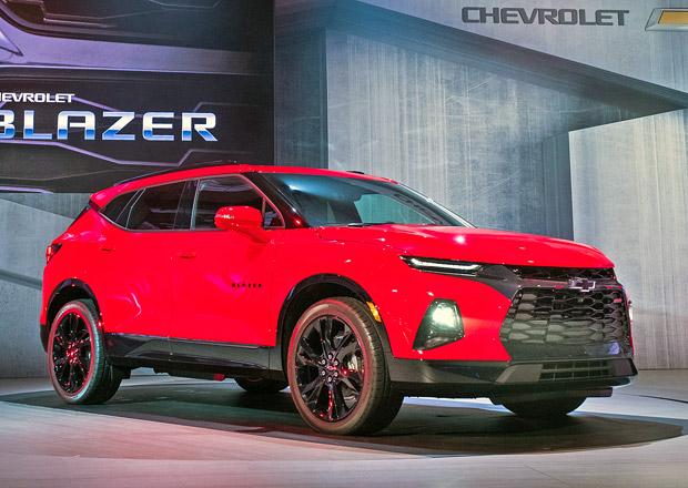 Chevrolet Blazer Je Zpt Nov Jako Drsn Suv Vypadajc Jako Camaro