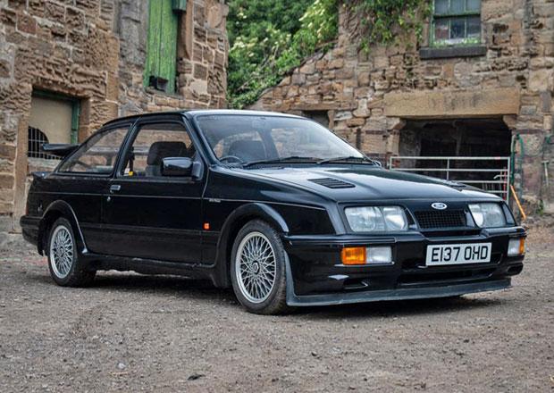 Vzácný Ford Sierra RS500 Cosworth se bude dražit: Víte, jaká je vyvolávací cena?