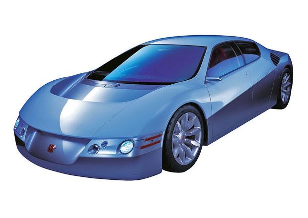 Honda Dualnote/Acura DN-X (2001-2002): Hybridní supersport byl zvláštní nejen čtyřmi dveřmi