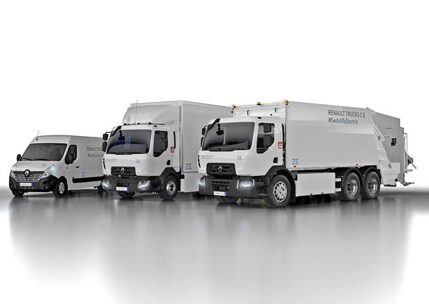 Renault Trucks nová generace elektrických nákladních vozidel