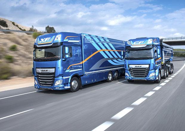 DAF CF a XF získal ocenění Slovinské nákladní vozidlo roku 2018