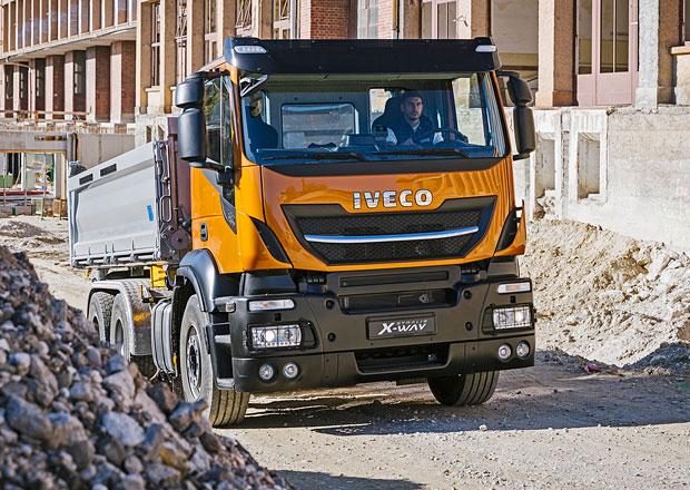 Stavební vozidla Iveco: Tři modely