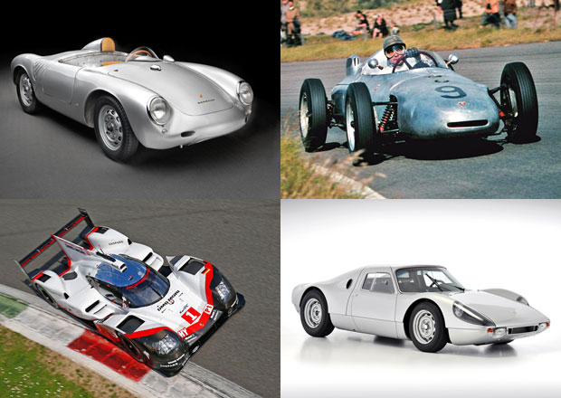 Prohlédněte si čtyřválcové závodní speciály Porsche ve velké galerii