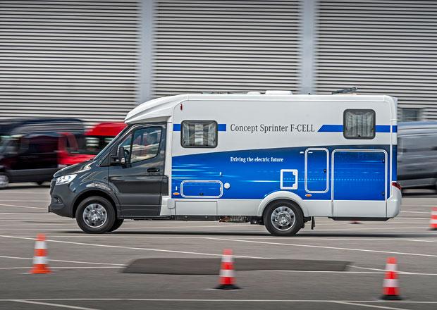 Mercedes-Benz představuje vodíkový Concept Sprinter F-CELL s obytnou nástavbou