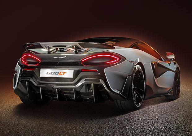 McLaren přemýšlí nad ostřejším 600LT, inspiraci hledá v 570S GT4