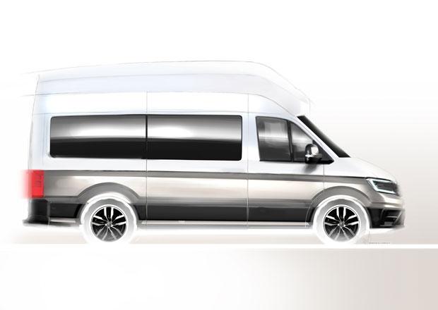 Volkswagen California XXL se proměňuje v sériový model