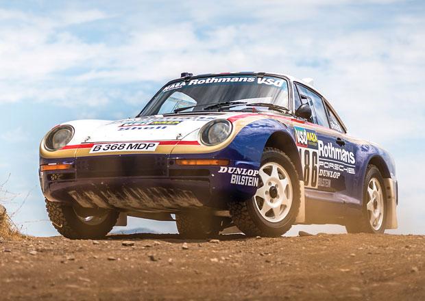 Pořiďte si vzácný prototyp Porsche 959 nebo rovnou speciál z rallye Paříž-Dakar