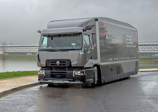 Renault Trucks Urban Lab 2 se chlubí úsporou paliva