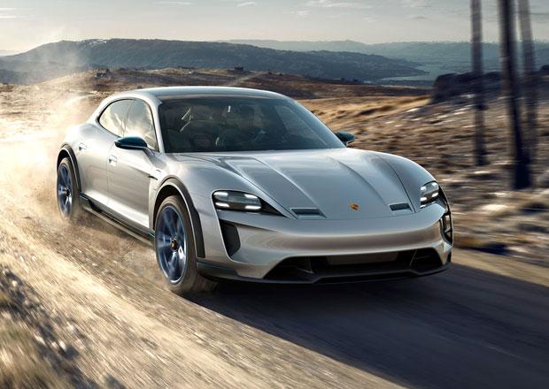 Sourozenec Taycanu je na cestě. Kdy Porsche Mission E Cross Turismo dorazí?