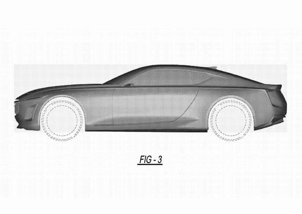 Cadillac si nechal registrovat podobu velkého kupé. Dočkáme se tohoto krasavce?