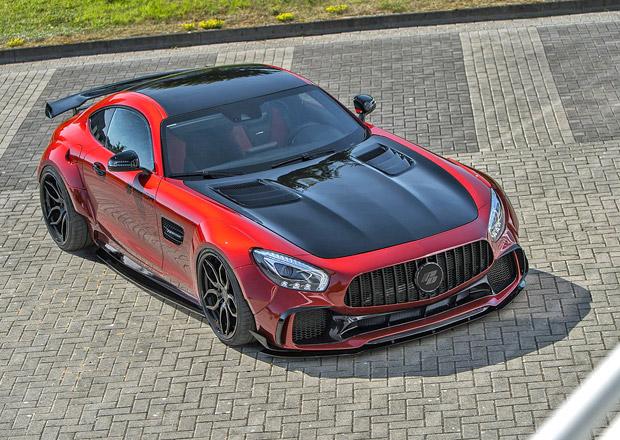 Přijde vám Mercedes-AMG GT málo? Superauto při návštěvě u Prior Design přibralo v bocích