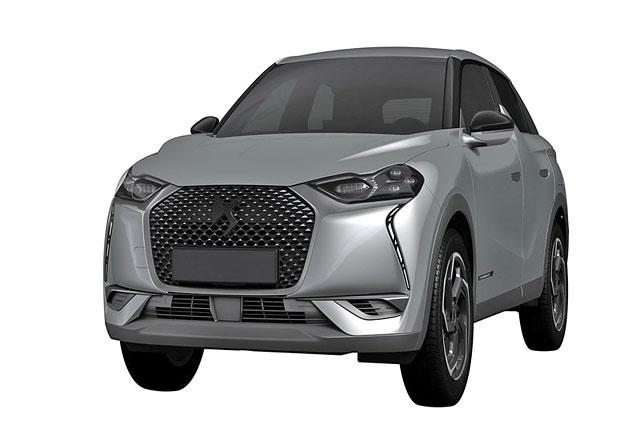 Luxusní divize Citroënu chystá nový crossover. DS 3 Crossback moc krásy nepobralo