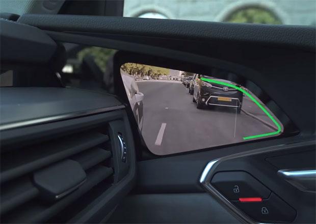 Audi e-tron dostane kamery místo zrcátek. Koukněte, jak to bude fungovat