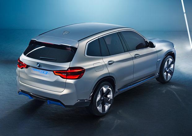 Elektromobil BMW iX3 se bude v Číně vyrábět pro celý svět