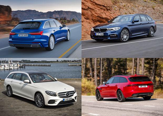 Nové Audi A6 Avant vstupuje na český trh jen s turbodiesely. Jak si vede ve srovnání s konkurencí?