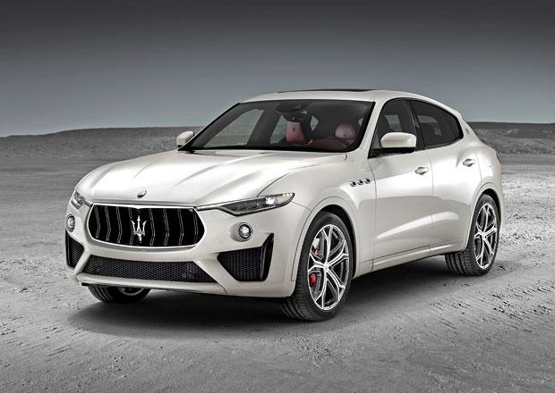 Osmiválcové Maserati Levante míří do Evropy. Nová verze GTS má 404 kW