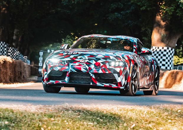 Čekání na novou Toyotu Supra pokračuje. V Goodwoodu se ukázala, má to ale háček...