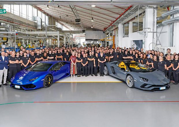 Lamborghini hlásí úspěšné pololetí. Slaví prodejní rekord, a to ještě nezačalo dodávat Urus