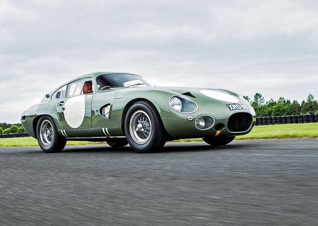 Aston Martin DP215: Vzácný závodní prototyp z roku 1963 je na prodej