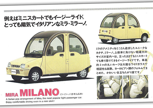 "Daihatsu a jeho koncepty miniaut z 90. let: Od mini sportáku po ""kachnu"""