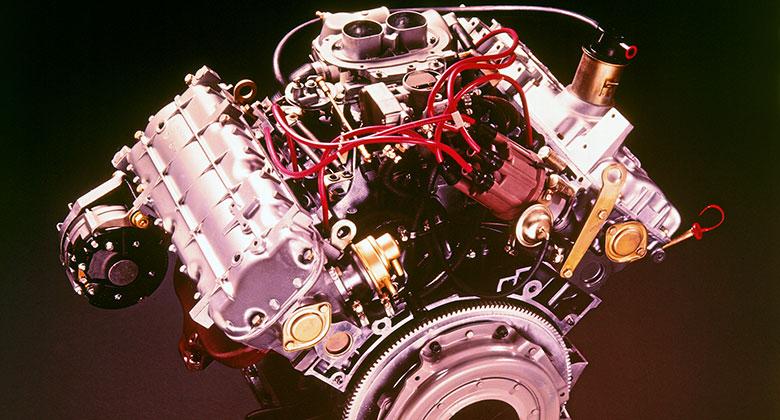 Pamatujete pohonné jednotky PRV? Globální V6 měl být původně osmiválcem!