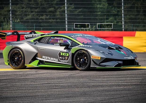 S výroční edicí Lamborghini Huracán Super Trofeo se na silnici nesvezete