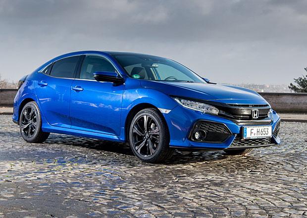 Naftová Honda Civic dostala pro Evropu devítistupňový automat