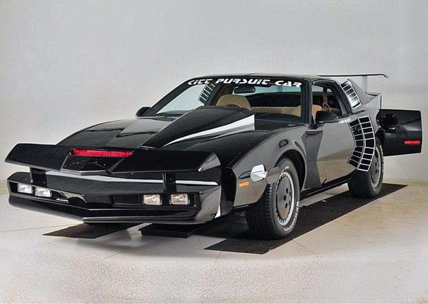 KITT Super Pursuit Mode připravený pro seriál Knight Rider míří do aukce