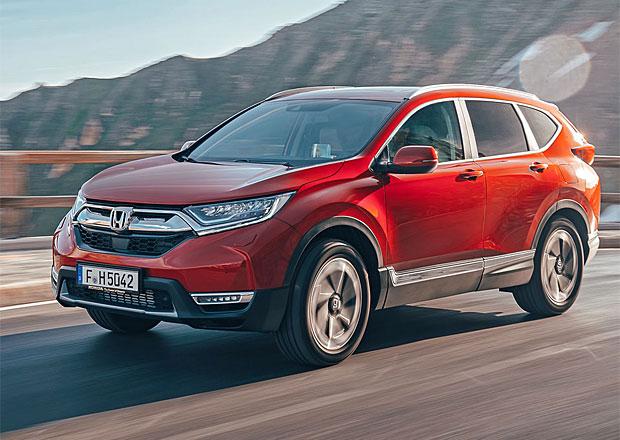 Nová Honda CR-V prozradila český ceník. Láká na superbohatou základní výbavu