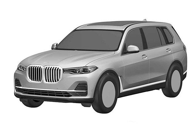 Nové BMW X7 na patentových snímcích: Obrovské ledvinky budou i v sérii!