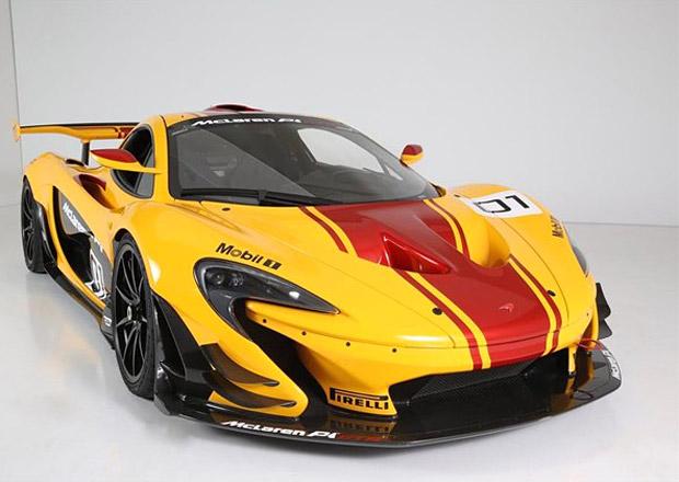 Kupte si vůbec první McLaren P1 GTR. Může legálně na silnice!