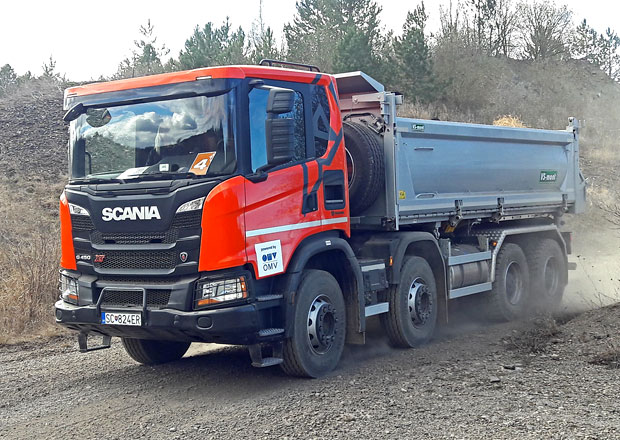 Scania v kamenolomu: Inovace pod drobnohledem