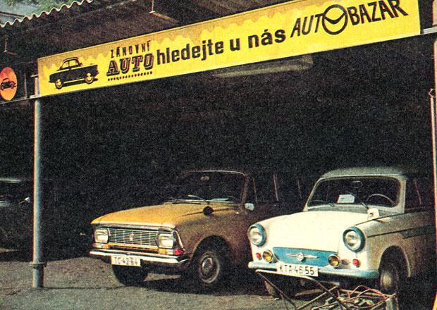 Takto se prodávaly ojetiny za minulého režimu: Auto vyměnil za chatu