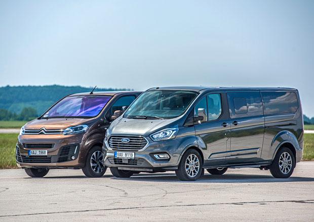 Citroën Spacetourer vs. Ford Tourneo Custom – Koráby evropských dálnic
