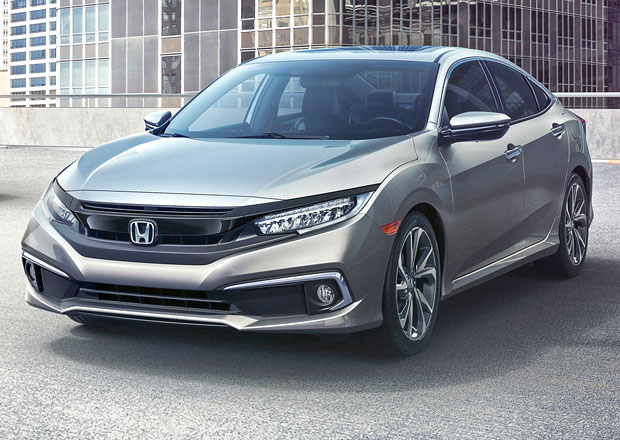 Modernizovaná Honda Civic 2019: Bude více sportovní!
