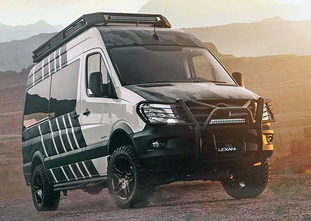 Mercedes-Benz Sprinter je po proměně v LM-EXTV luxusním obydlím pro dobrodruhy