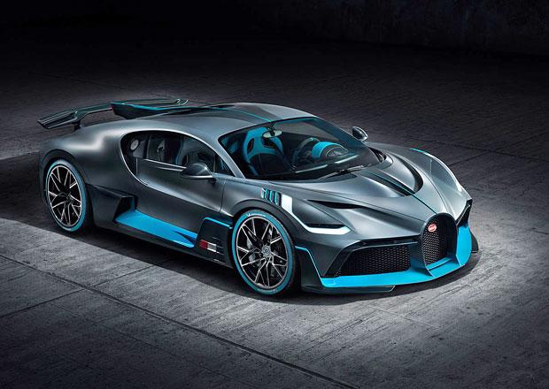 Bugatti Divo oficiálně. Dražší Chiron, který nejede tak rychle