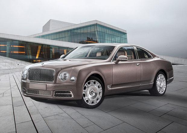 Bentley vám ho nepostaví, přesto si ho můžete koupit! Co? Krásné Mulsanné kupé!
