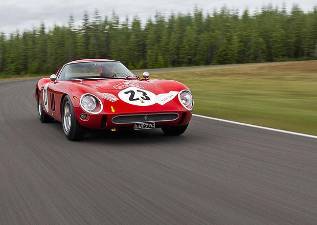 Nové nejdráže vydražené auto je... jak jinak než Ferrari 250 GTO